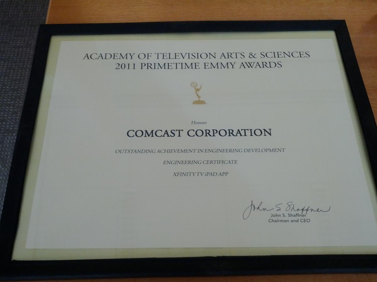 Emmy'd