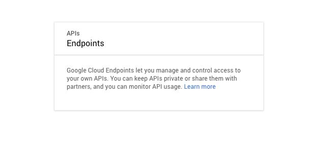 Trying out Google's Cloud Endpoints vs Amazon API Gateway